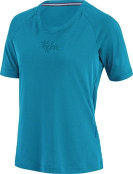 Garneau Bypass MTB Jersey - Sapphire Blue, Short Sleeve, Women's, Small