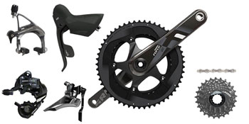 SRAM Force22 GXP 172.5mm 34/50 11-28 Kit-In-A-Box BB Not included