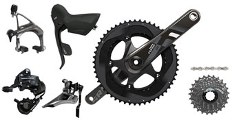 SRAM Force22 GXP 175mm 34/50 11-28 Kit-In-A-Box BB Not included