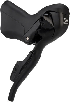 microSHIFT R8 2-Speed Left Drop Bar Lever, Shimano Compatible, Black