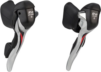 microSHIFT R8 Drop Bar Shift Lever Set 3 x 8-Speed Shimano Compatible