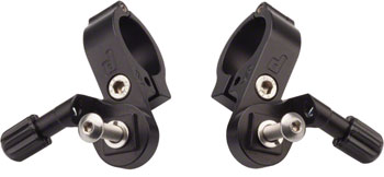 Paul Component Engineering Thumbies Shifter Mounts, Shimano 22.2mm Black
