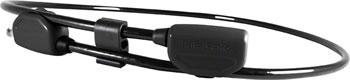 Hiplok POP Wearable Lock With Clip System: 6mm Black