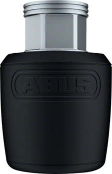 "ABUS Nutfix Solid Axle 2 Pack: M 3/8"", Black"