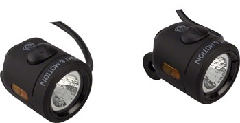 Light and Motion Nip-n-Tuck eBike Headlight and Taillight Set