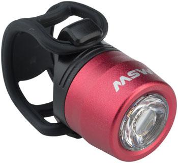 MSW HLT-017 Cricket USB Headlight Red