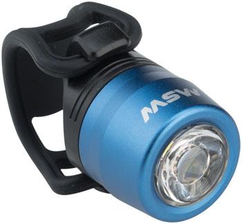 MSW HLT-017 Cricket USB Headlight Blue