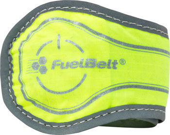 FuelBelt Neon Flare Snap Band: Yellow with Green LED