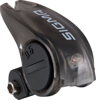 Sigma Brake Light Taillight: Black