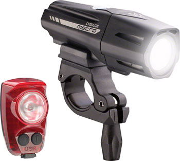 Cygolite Metro Plus 800 Headlight and HotShot Pro 150 Taillight Set