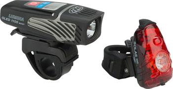 NiteRider Lumina 1100 OLED Boost and Solas 100 Headlight and Taillight Combo