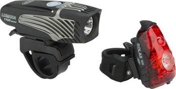 NiteRider Lumina 1100 Boost and Solas 100 Headlight and Taillight Combo