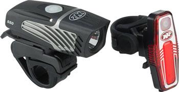 NiteRider Lumina Micro 550 and Sabre 80 Headlight and Taillight Combo