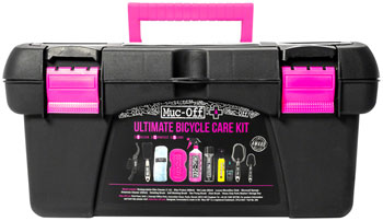 Muc-Off Ultimate Bicycle Cleaning Kit: Toolbox with 10 Pieces