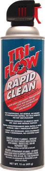 TriFlow Rapid Clean Dry Degreaser Aerosol: 15oz