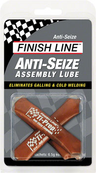 Finish Line Anti-Seize Assembly Lube, 3 x 6.5cc Sachets