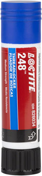 Loctite No.248 Threadlocker Medium Strength for fastners 6-20mm, Oil resistant: 9 Gram Stick
