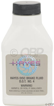 Hayes DOT 4 Brake Fluid, 4oz