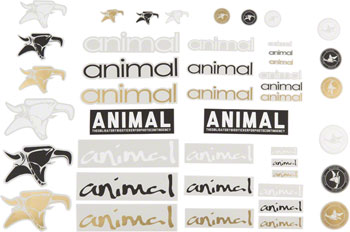 Animal Assorted Sticker Pack: Set of 44
