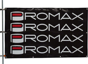 Promax Components Banner 6' x 3' Black