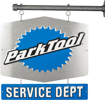 Park Tool Double-Sided Shop Service Department Sign
