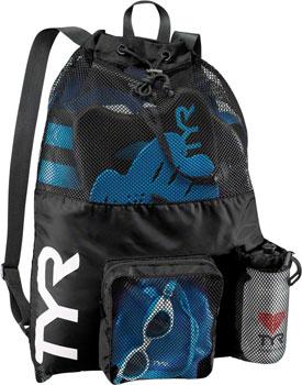 TYR Big Mesh Mummy Backpack: Black