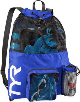 TYR Big Mesh Mummy Backpack: Royal