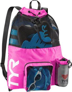 TYR Big Mesh Mummy Backpack: Pink