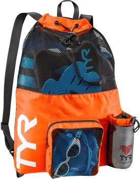 TYR Big Mesh Mummy Backpack: Orange