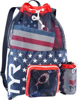 TYR Big Mesh Mummy Backpack: USA