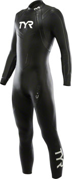 TYR Hurricane Cat 2 Wetsuit: Black/Gray MD