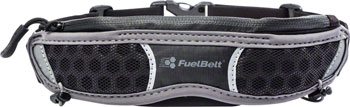 FuelBelt Helium Stretch Belt: Black/Gray