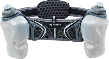 FuelBelt Helium Ultra Light Belt: Black/Gray
