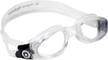 Aqua Sphere Kaiman Goggles: Clear with Clear Lens