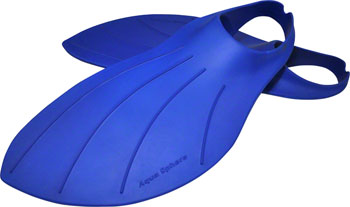 Aqua Sphere Alpha Fin Swim Fin: Size Large Blue
