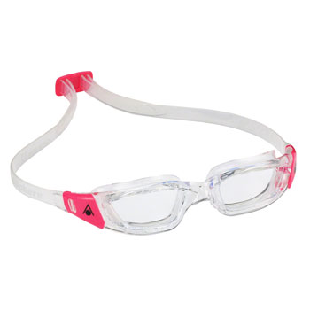 Aqua Sphere Kameleon Lady Goggles: Clear/Pink with Clear Lens