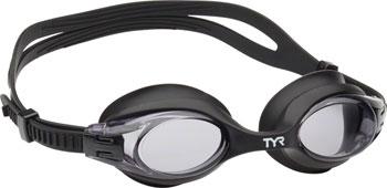 TYR Blackhawk Mirrored Femme Goggle Silver Lens//Silver Frame//Black Gasket