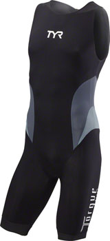 TYR Torque Elite Men's Swimskin: Black LG