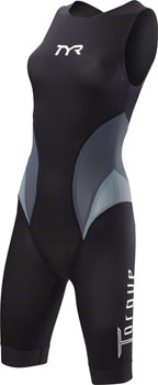TYR Torque Elite Women's Swimskin: Black LG