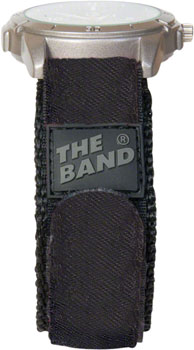 "Chums The Band Watchband: 3/4"", Black"