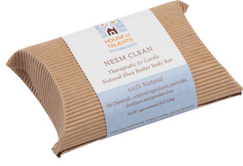 House of Talents Neem Clean Soap: 5oz Bar