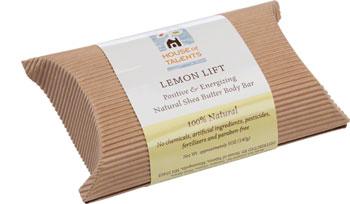 House of Talents Lemon Lift Soap: 5oz Bar