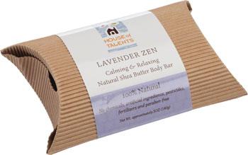 House of Talents Lavender Zen Soap: 5oz Bar