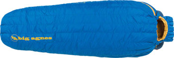 Big Agnes, Inc. Fish Hawk 30F Sleeping Bag: 650-fill DownTek, Blue, Long