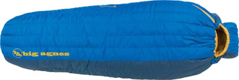 Big Agnes, Inc. Lost Ranger 15F Sleeping Bag: 650-fill DownTek, Blue, Long