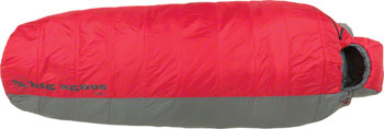 Big Agnes, Inc. Encampment 15F Sleeping Bag: Synthetic, Red/Gray, Long