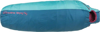 Big Agnes, Inc. LuLu 15F Women's Sleeping Bag: Synthetic, Blue/Green, Petite