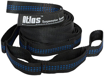 Eagles Nest Outfitters Atlas Straps, 9', Charcoal/Royal Blue, Pair