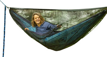 Eagles Nest Outfitters Guardian Bug Net SL, with zipper: Charcoal