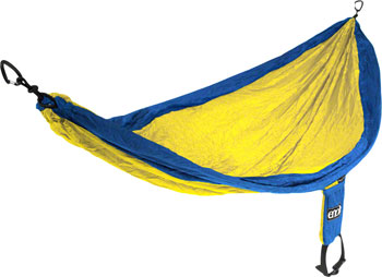 Eagles Nest Outfitters SingleNest Hammock: Blue/Yellow
